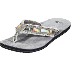 Sanük Fraid So Sandals Men Charcoal Multi